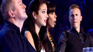Sami Brookes - X Factor Auditions 2011 HD With Comments One Moment In Time