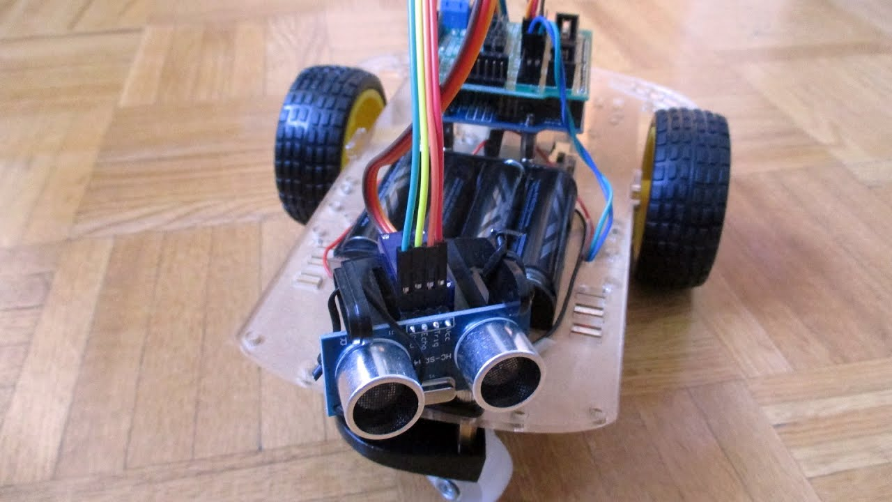 Smart Robot Car: Part 6  Obstacle Avoidance Code and