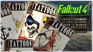 Все журналы Табуированные татуировки Fallout 4