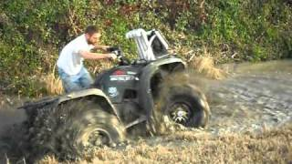 black mamba atv tires in action part 2 mud ridin