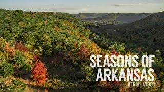 Seasons of Arkansas | Aerial Video