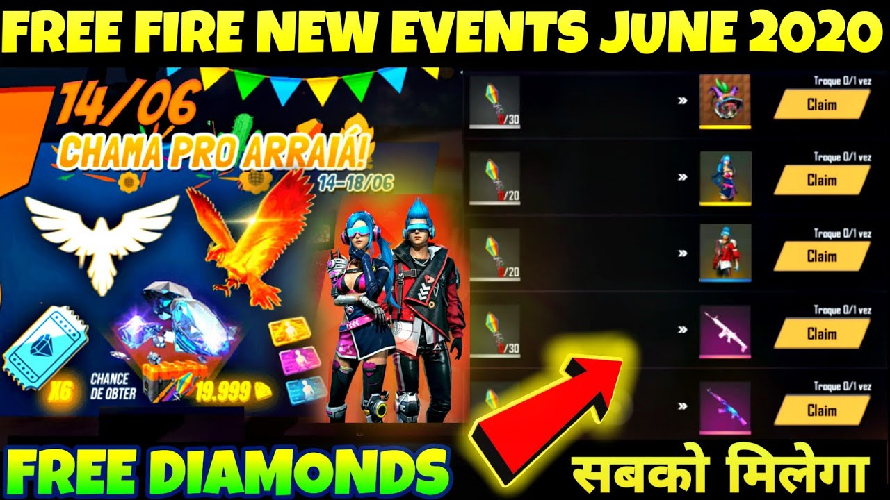 Free Fire New Share To Win Event Details Permanent Cupid Scar Event Free Fire New Event 2020 Youtube