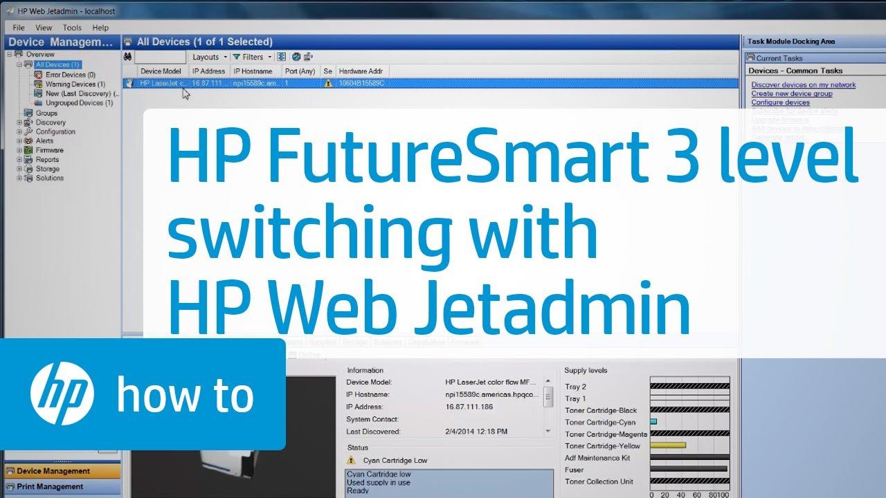 HP Web Jetadmin software