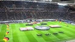 Deutschland gegen Georgien in Leipzig