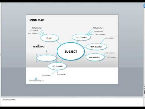 Build a Mind Map in PowerPoint