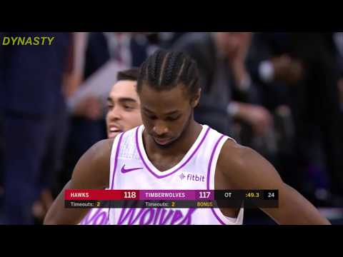 Andrew Wiggins Gets NASTY BOOED After Missing Two Free Throws - Timberwolves vs Hawks