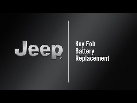 Key Fob Battery Replacement How To 2020 Jeep Gladiator Youtube