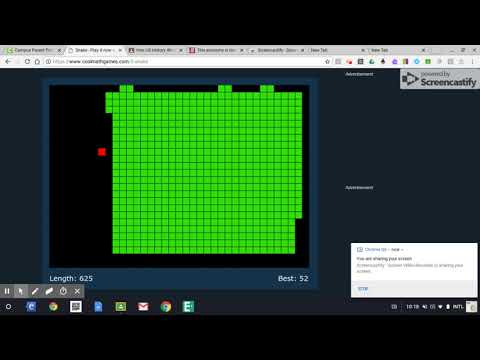 Snake - Coolmath - Possible World Record