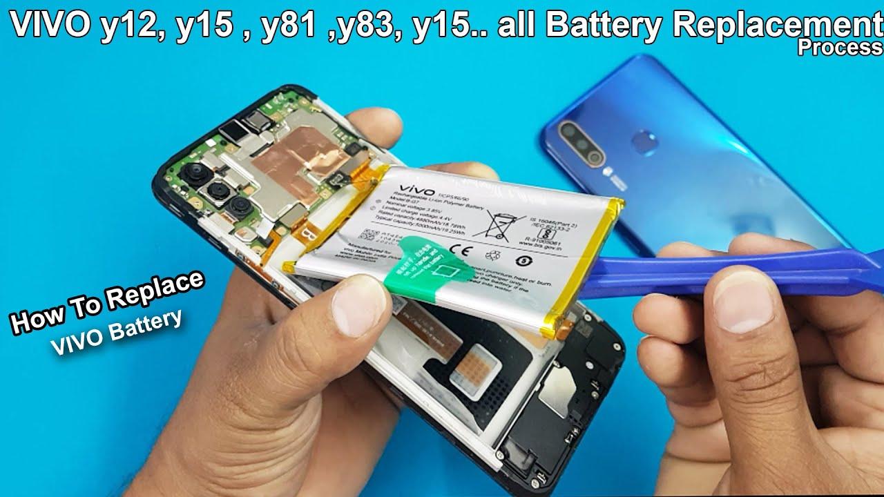 Download VIVO  y12 y15  y81 y83 y15 All Aattery Replacement Process / How to Replace VIVO Y Series Battery