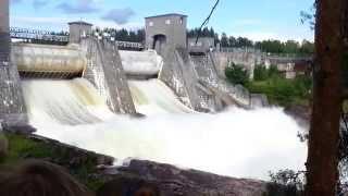 Imatra, Finland(Imatrankoski (водоскат) в Иматра, Финляндия., 2014-07-11T18:17:48.000Z)