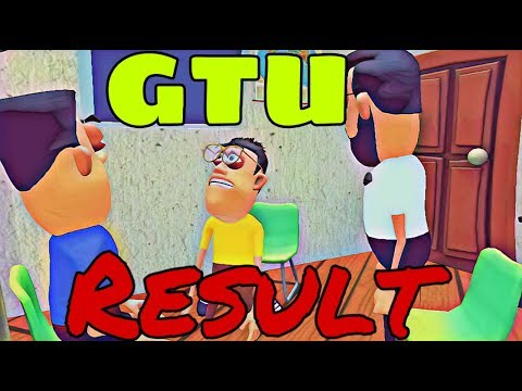GTU nu result |thereality |gujraticomedy