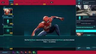 Marvel's Spider-Man Gameplay. Live PS4 Broadcast !