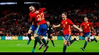 Inglaterra 2-2 España   Goles   COPE   15/11/2016