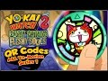 Yo-Kai Watch 2 - ALL 30 QR Codes From Yo-Motion Medals Series 1! [YW2 Tips & Tricks]