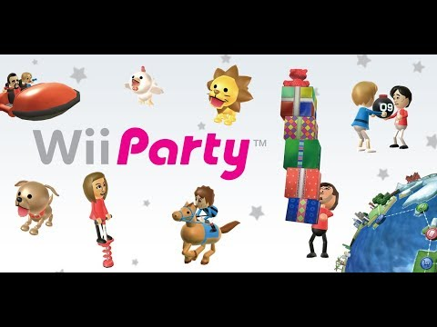 Wii Party - Livestream - KEEP CHAT ENGLISH PLEASE!