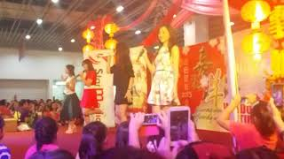 Gambar cover M-Girls 四個女生 《happy happy cny》(新春佳期)簽唱會