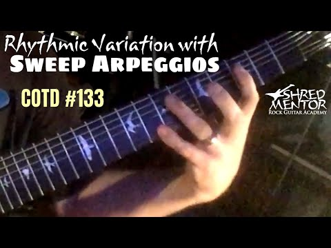 Rhythmic Variation with Arpeggios | ShredMentor Challenge of the Day #133