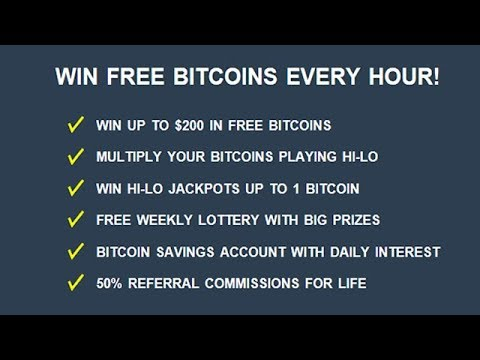 Win Upto $200 In Bitcoins Every Hour, No Strings Attached!