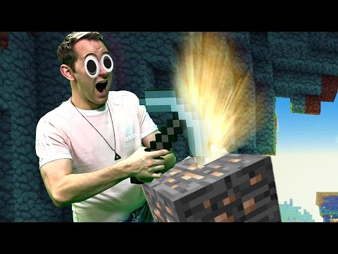CAVE MINING IN MIXED REALITY! | Minecraft [Ep 3]