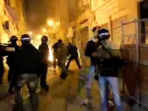 Algerian Riots in France after the loss from Egypt 2-0