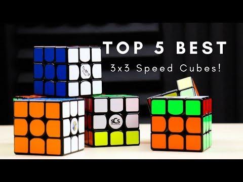 Top 5 BEST 3x3 Speed Cubes 2018!