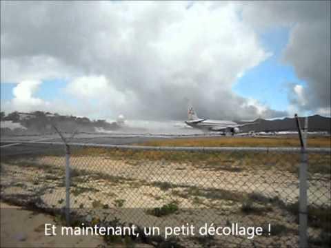 Saint-Martin - L'aéroport le plus dangereux au monde