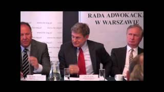 """Seminarium """"Zapobieganie niesłusznym oskarżeniom - rekomendacje"""" - prof. Leszek Balcerowicz"""