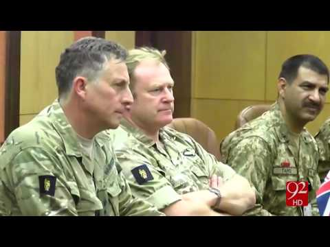 UK Chief of General staff's meeting with Army Chief of Pakistan 20-10-2016 - 92NewsHD