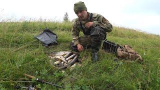 Рыбалка в деревне. Ловля хищника на железо.
