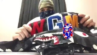 046 bape shaolin   bape   a bathing ape   review   clothing   collection   outfit   pickup  unboxing