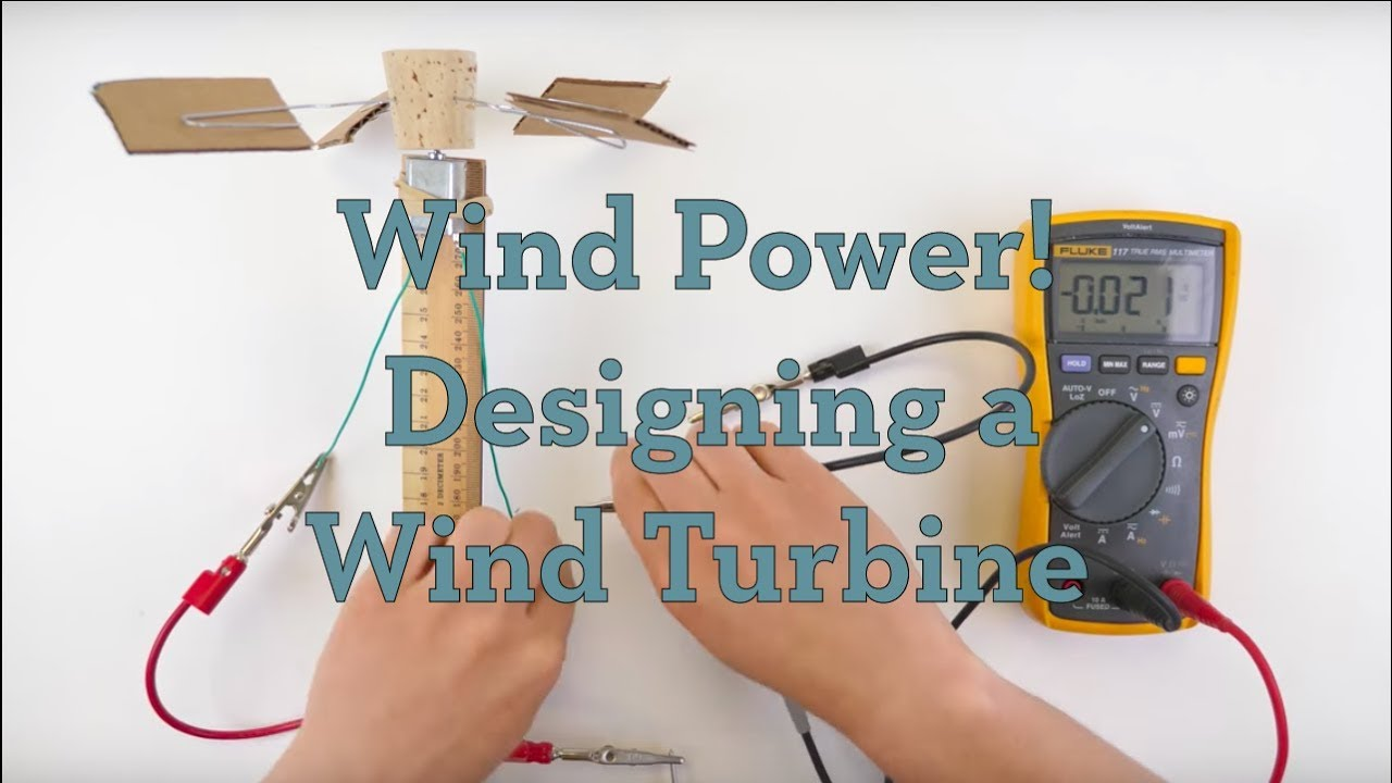 designing a wind turbine activity teachengineering [ 1280 x 720 Pixel ]