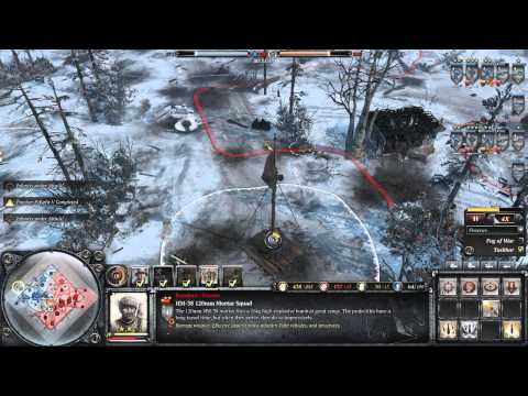 Company of Heroes 2- More Mortars Please