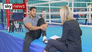 Anthony Joshua on boxing and being a dad