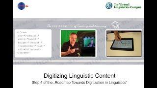 Digitizing Linguistic Content