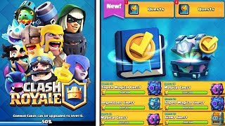 Tägliche Quests + CR ENTFERNT die GRATIS TRUHE? Clash Royale Update Oktober Deutsch CR Kevgo around