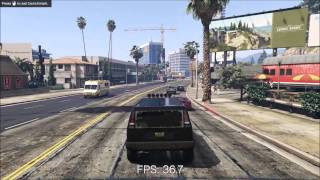 (PC) Grand Theft Auto V Benchmark (Alienware 17 + GTX 980)