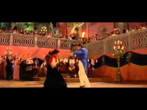 The Mask of Zorro dance scene - Alejandro & Elena