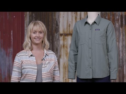 dae44b68e5a297 Patagonia Women's Long-Sleeved Anchor Bay Shirt - YouTube