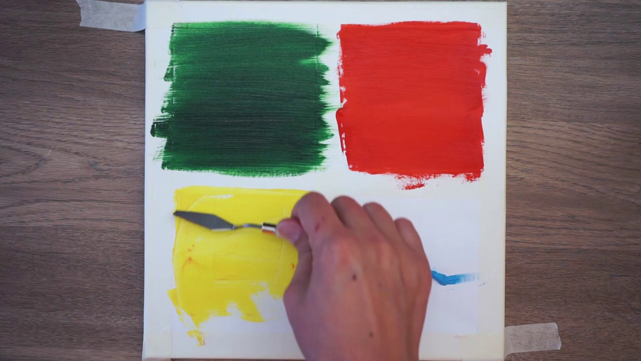 4 Type Of Drawing Sky|Easy & Simple Acrylic Painting Step by Step For Beginners