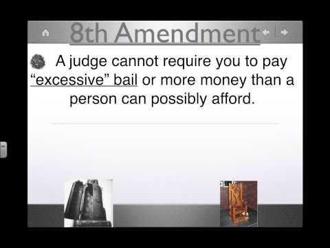 6th, 7th, and 8th Amendments Flip Video