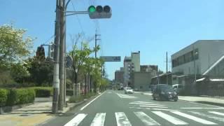 舞鶴市 ドライブ 潮路通り 夕潮橋(旧 軍港橋)から松島橋まで