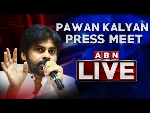 Pawan Kalyan Press Meet LIVE At Vijayawada | JanaSena Party Latest News | AP News Updates | ABN LIVE teluguvoice
