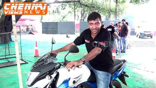 Yamaha glamorous celebrations and the launch of SZ-RR Version 2.0