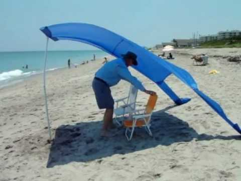 Portable And Compact Sun And Wind Shelters For Beach Or