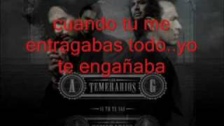 Watch Los Temerarios Te Hice Mal video
