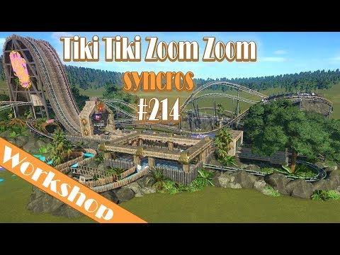 Tiki Tiki Zoom Zoom - syncros 🎢 PLANET COASTER 🎠 Attraktion Vorstellung #214