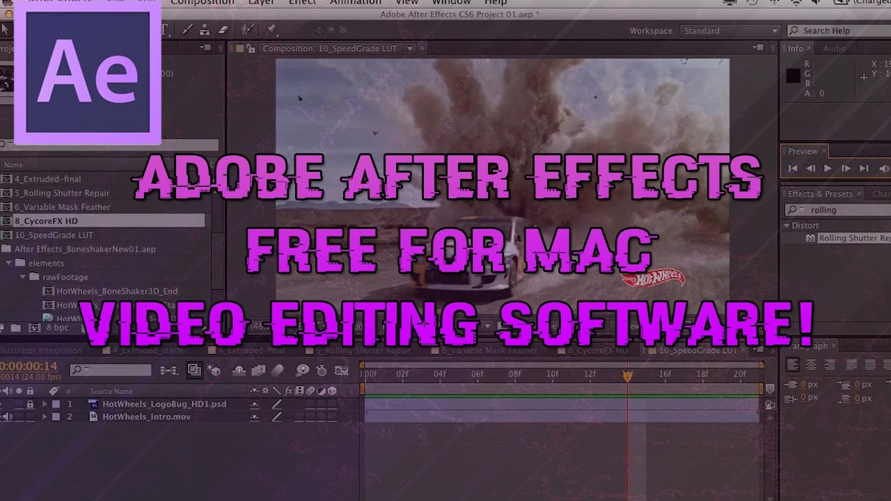 how to get after effects for free on mac
