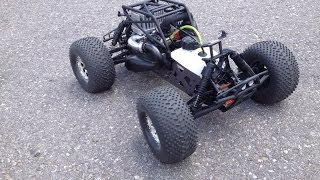 New HPI 1/8 Savage Octane Motor Breakin and what not to do....LOL