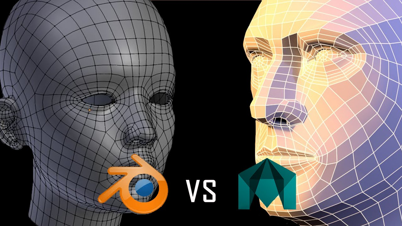 Similar and different features between Autodesk Maya and