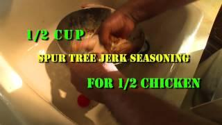 Jerk chicken Recipe -- How to marinate - - Under Your Skin